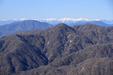 南アルプス白峰三山