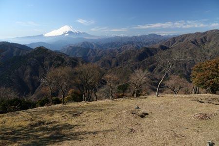 富士山と南アルプス